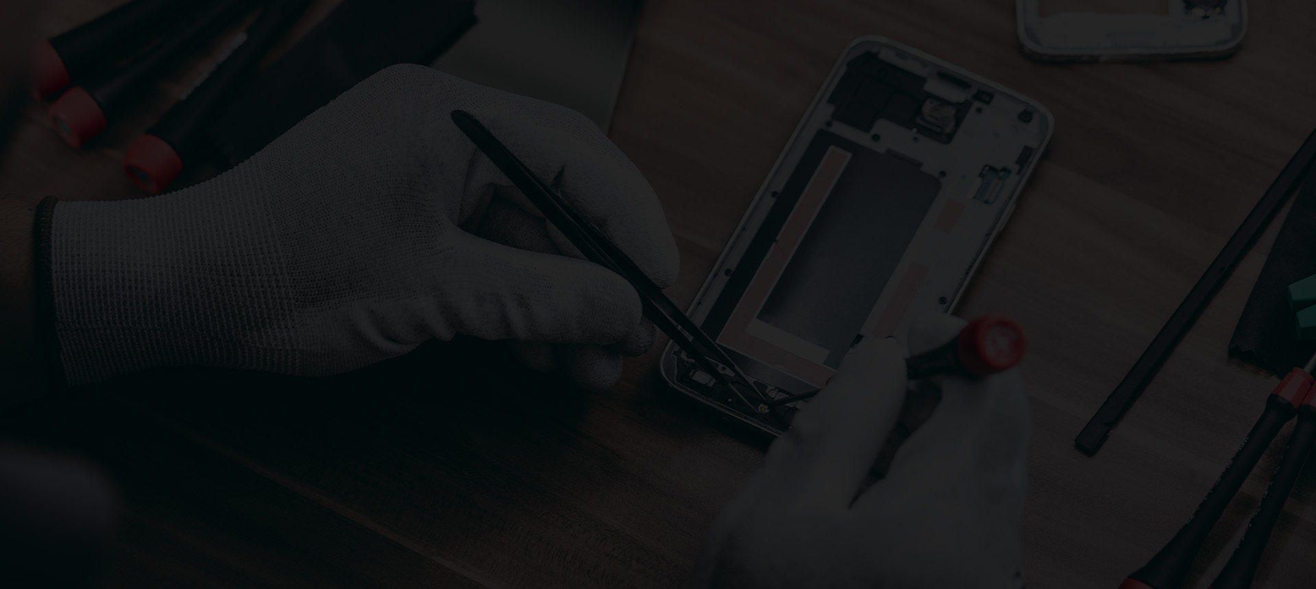 Reparaturwerkzeuge fur Mobiltelefone und Tablets